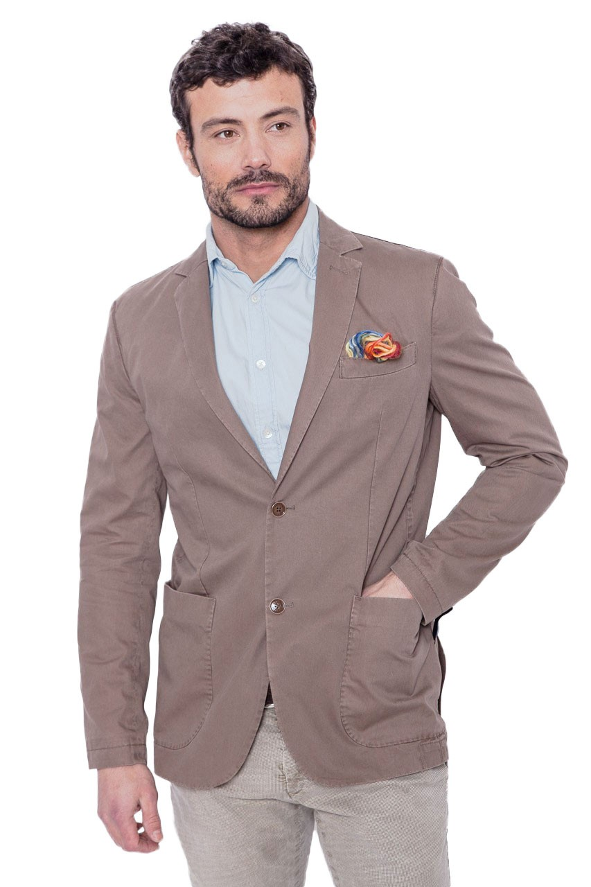 blazer en coton beige homme at p co alan60 16 cesare nori depuis 1955. Black Bedroom Furniture Sets. Home Design Ideas