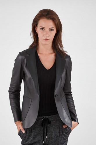 Veste en cuir Germans PD18038