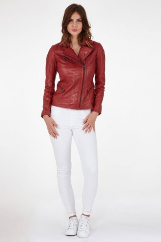 Outlet Femme Blouson Rose Garden KATE Rouge