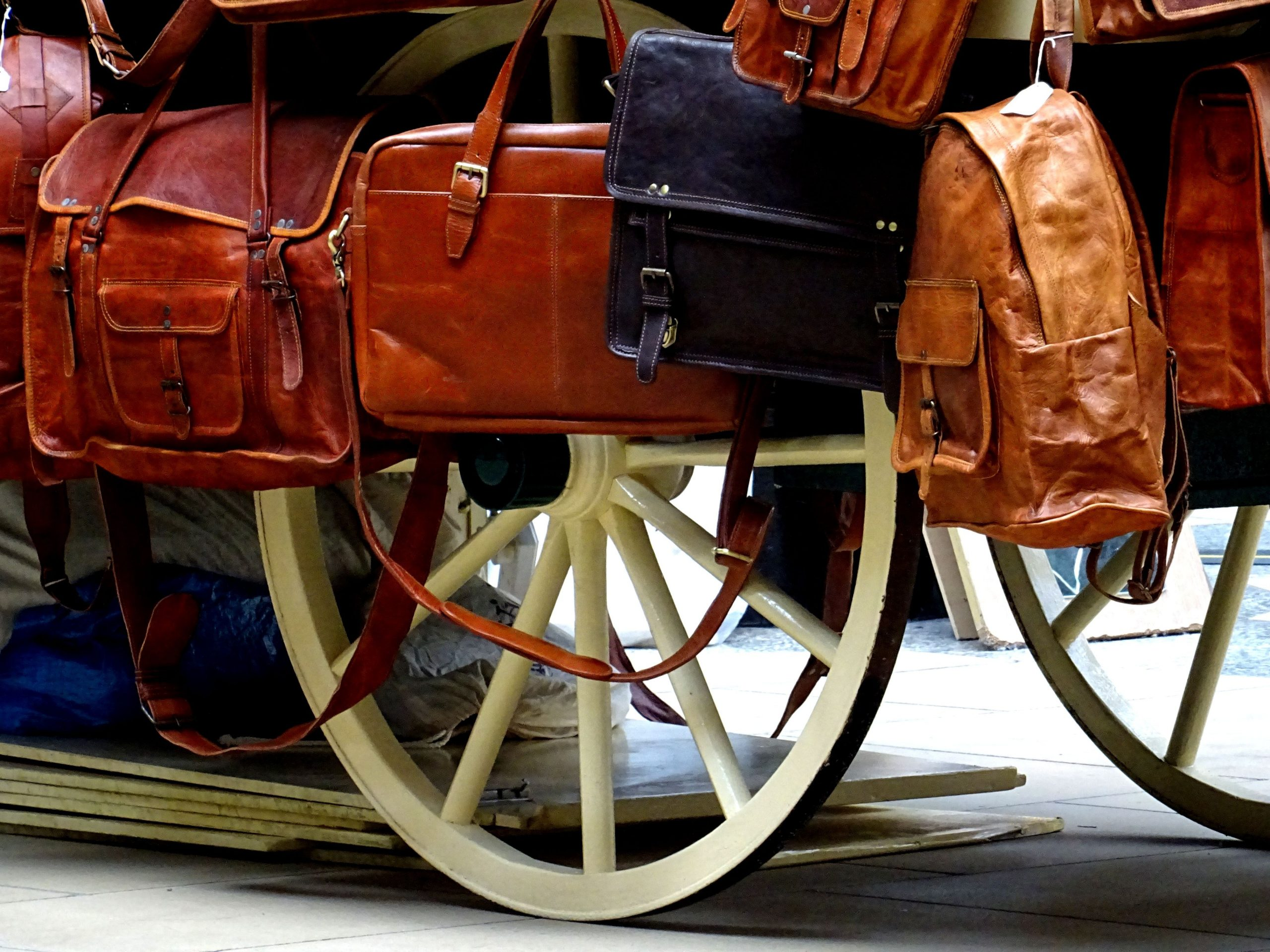 Bags Brown Carriage Handle 575435