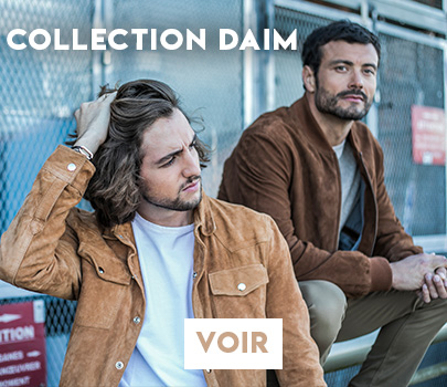 Collection Daim Homme Cesarenori